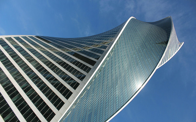 Russian Federation, Modern Moscow Architecture,