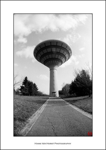 Water tower Foetz, Foetz on Fisheye | by Hans ter Horst Photography