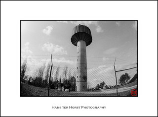 Water tower Steebrécken, Pontpierre, Fisheye | by Hans ter Horst Photography