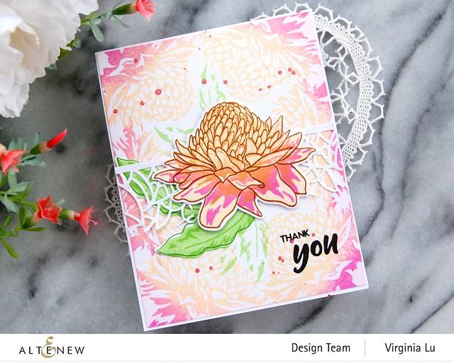 Altenew-Build--Flower-Torch Ginger-Virginia#3