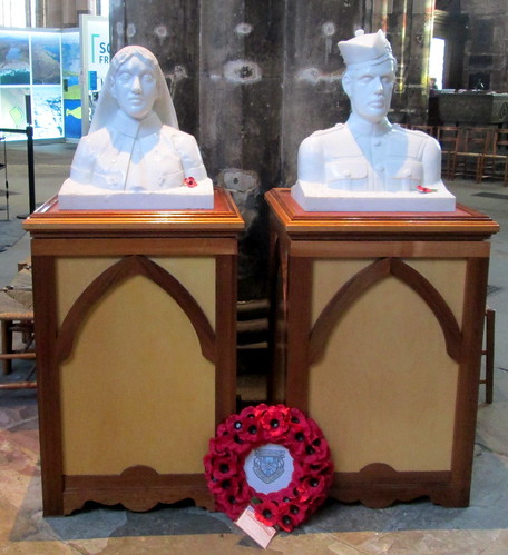 Great War Busts, Glasgow Cathedral