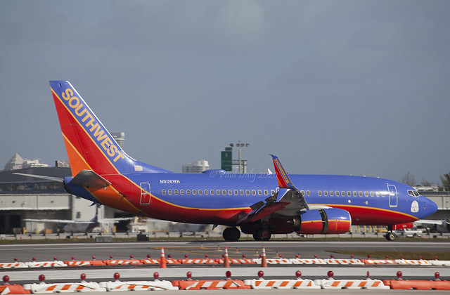 N906WN Boeing 737-7H4 Southwest Airlines