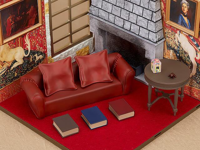 巫師們放鬆心情之好場所!黏土人場景系列 #08 葛來分多交誼廳(ねんどろいど プレイセット#08 グリフィンドール談話室)