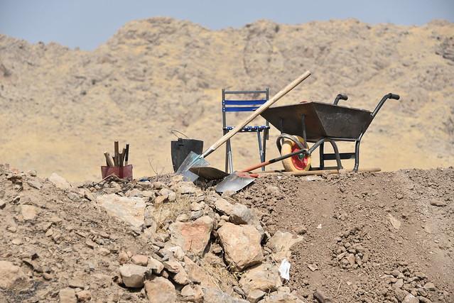 Qalatga Darband Excavations, Darband-i Rania, Sulaymaniyah, Iraqi Kurdistan