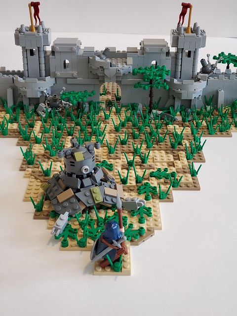 Link At the Hyrule Castle Town Ruins
