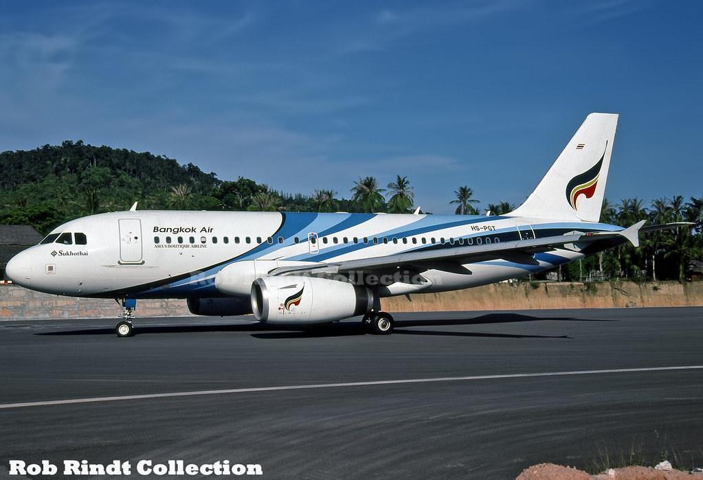 Bangkok Air A319-132 HS-PGT