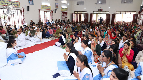 Devotees feel blessed
