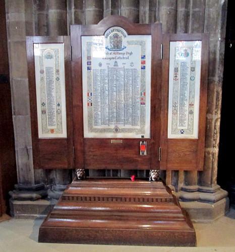Roll of Honour, Parish of St Mungo High 1914 - 1919