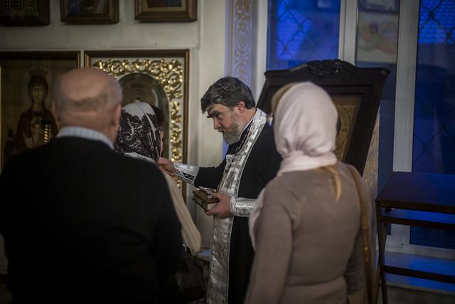 18 марта 2020 г. Литургия Преждеосвященных Даров