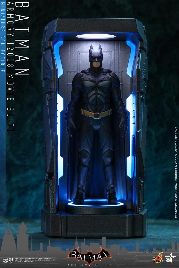 Hot Toys - [VGMC009 - VGMC015] -《蝙蝠俠:阿卡漢騎士》蝙蝠俠戰衣格納庫迷你收藏 Batman Armory Miniature Collectible