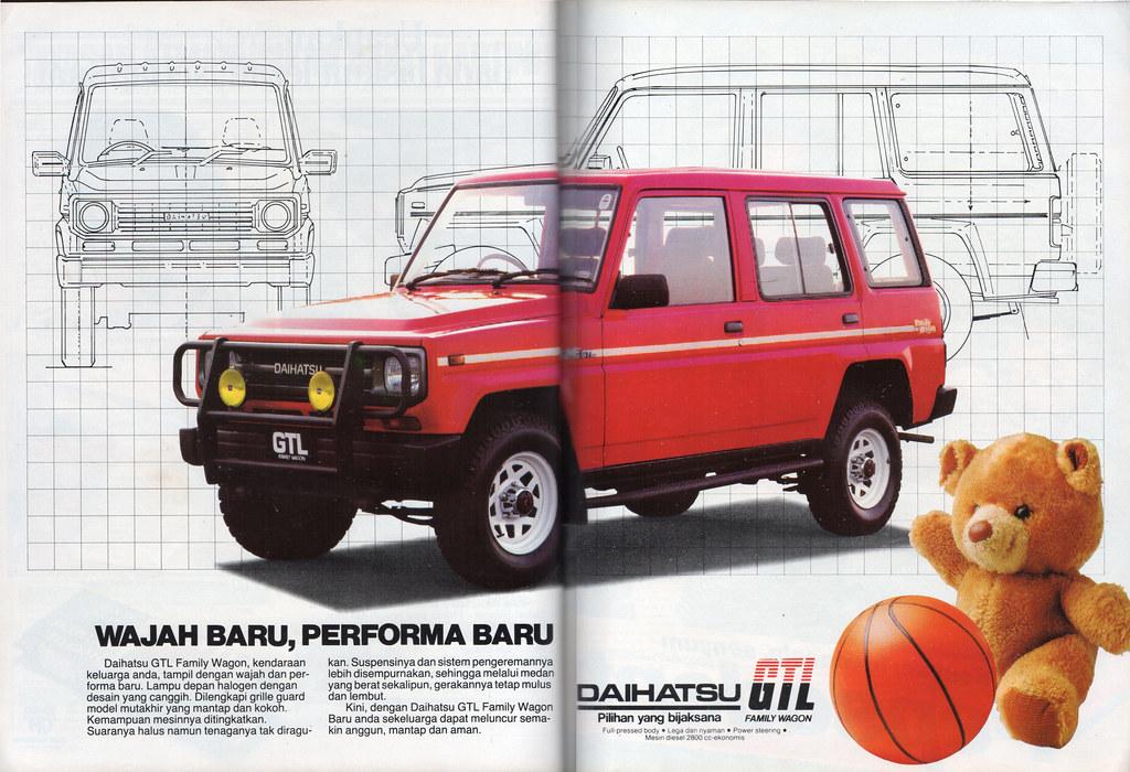 Daihatsu GTL - Kartini, 25 Juli 1988