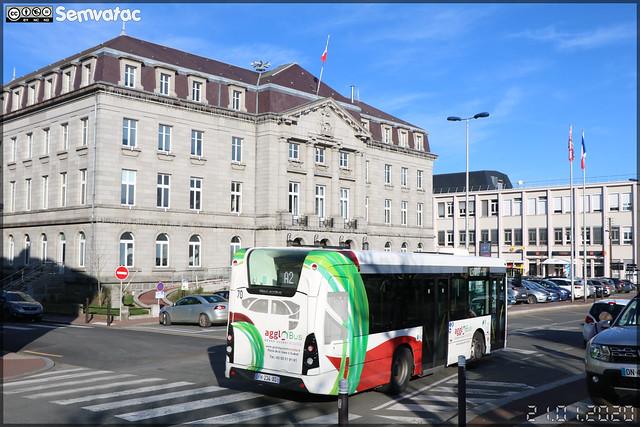 Heuliez Bus GX 137 – Agglo'Bus Grand Guéret Mobilité