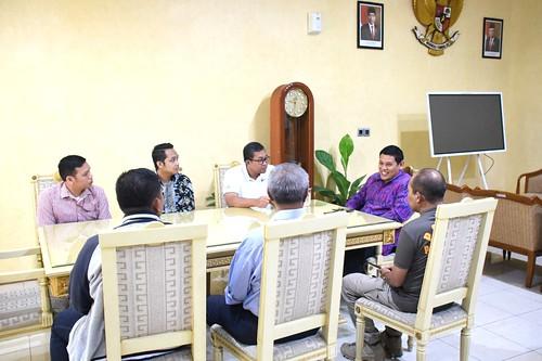 Walikota Kediri Abdullah Abu Bakar Mas Abu