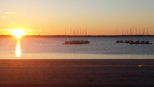 hyannis barnstable kennedy sunrise lewisbay boats water ocean atlantic