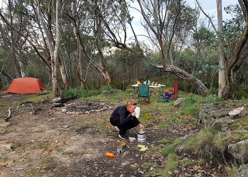 Campsite at Camp Creek
