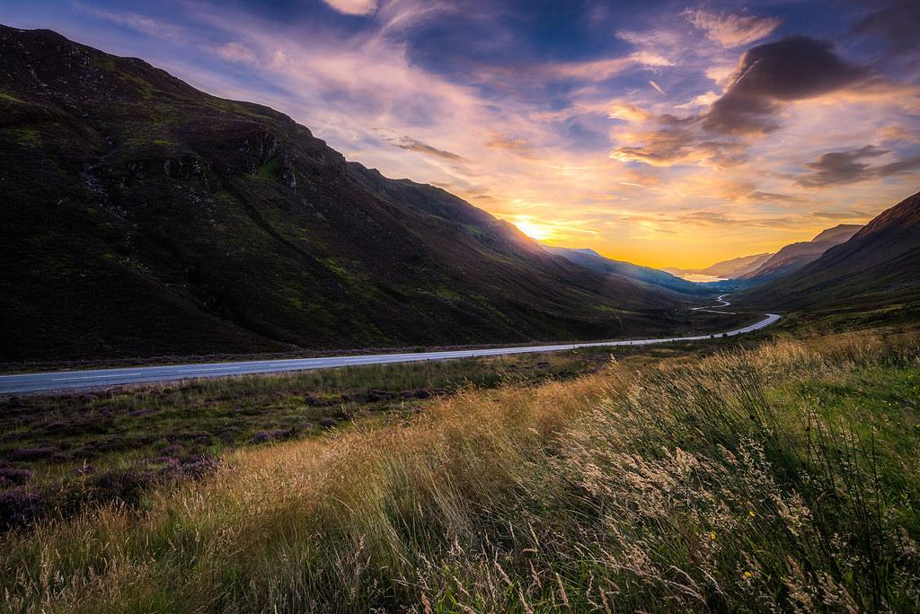 Loch Maree sunset II