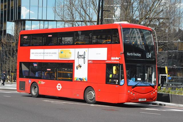 YJ19 HVG (OME2656) Metroline London