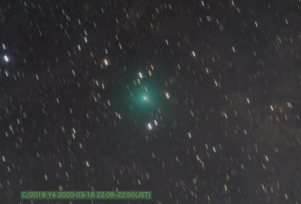 Comet ATLAS (C/2019 Y4)