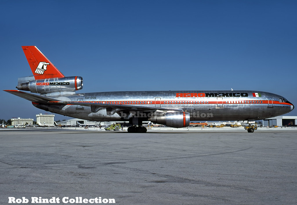 Aero Mexico DC-10-30 XA-DUG