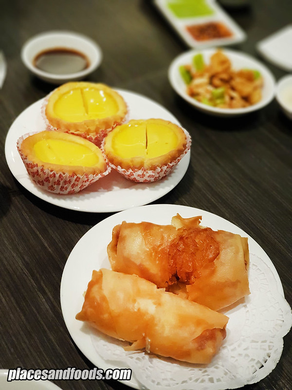 the han room dim sum tart