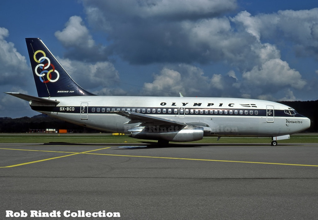 Olympic Airways B737-284/Advanced SX-BCD