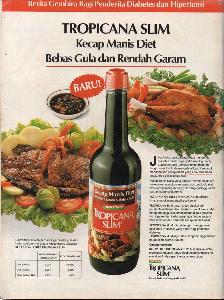 Kecap Tropicana Slim - Kartini, 25 Juli 1988