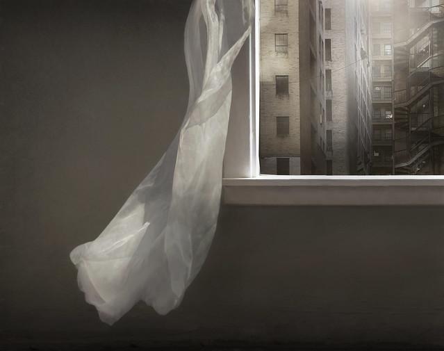 Window City View Curtain