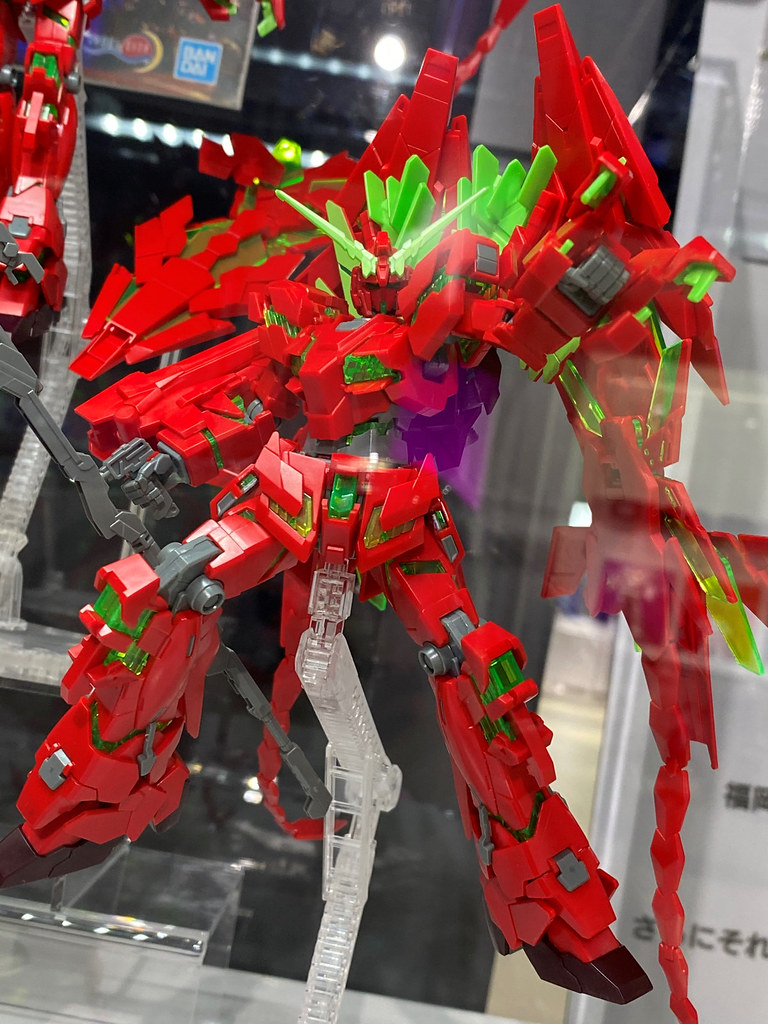 這獨角獸有草莓味!HG 1/144《機動戰士鋼彈UC》RX-0 完全裝備型獨角獸鋼彈(毀滅模式)Ver.GSF【GUNDAM BASE 福岡限定】