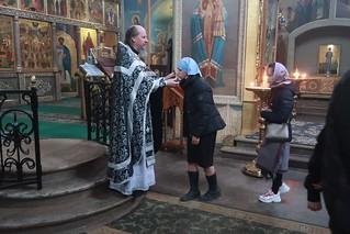 20.03.2020 | Литургия Преждеосвященных Даров в Иверском монастыре