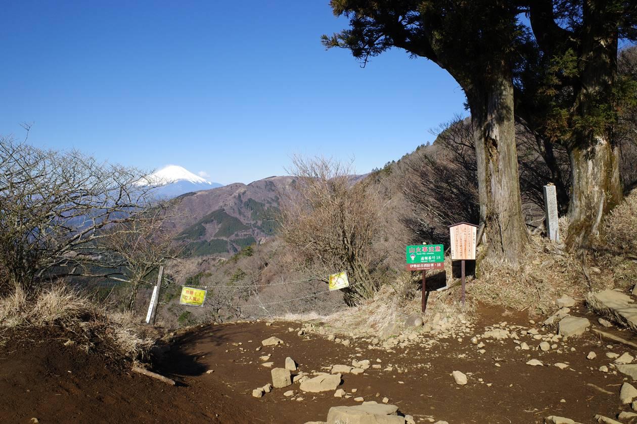丹沢・大山 富士見台
