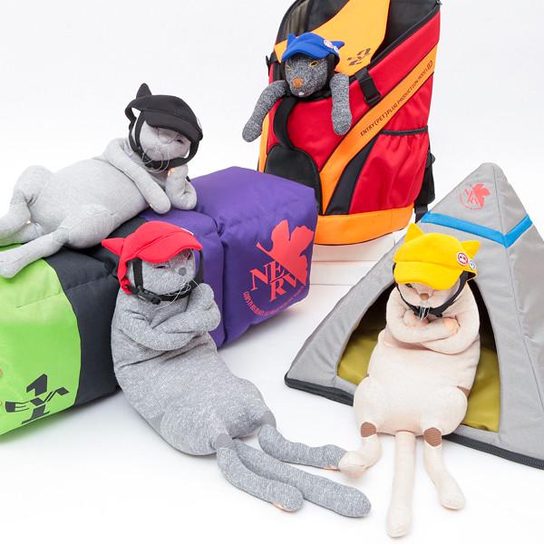 寵物也要EVA風!EVANGELION PETS 新系列推出「NERV本部」寵物小屋、明日香貓耳寵物帽等多款趣味貓犬商品