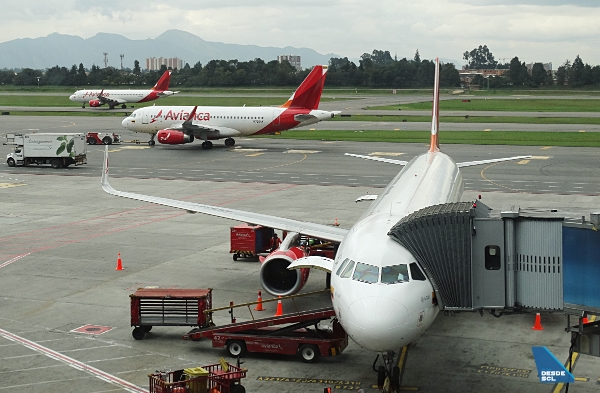 Avianca A321, A320 y A320 BOG (RD)