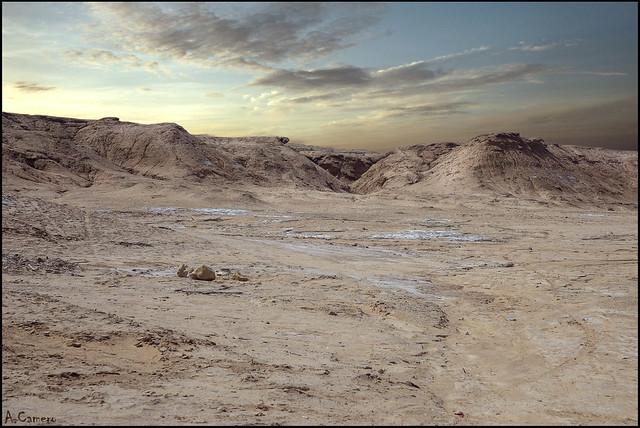 Espacio  abierto -desierto-