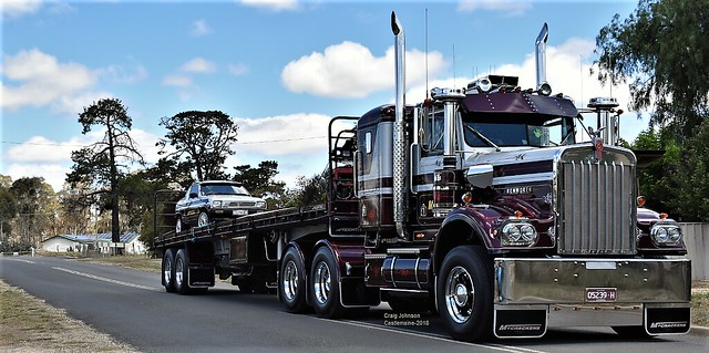 McCrakens Mighty S2 Kenworth at Castlemaine