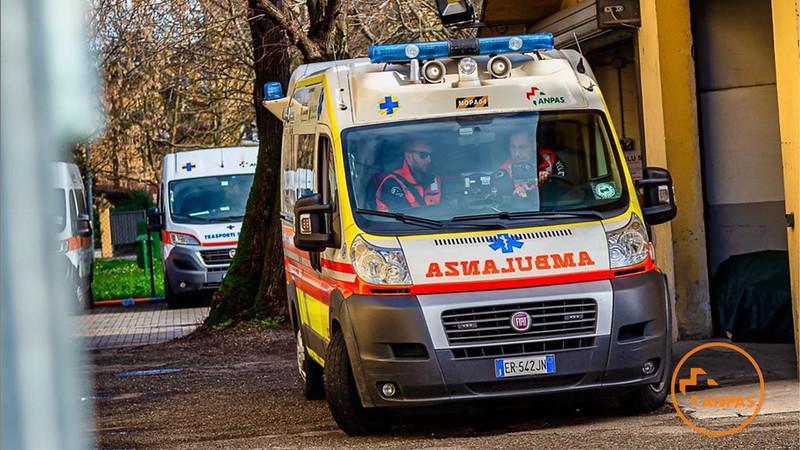 COVID19 - La solidarietà tra pubbliche assistenze a Bergamo, Brescia e Piacenza