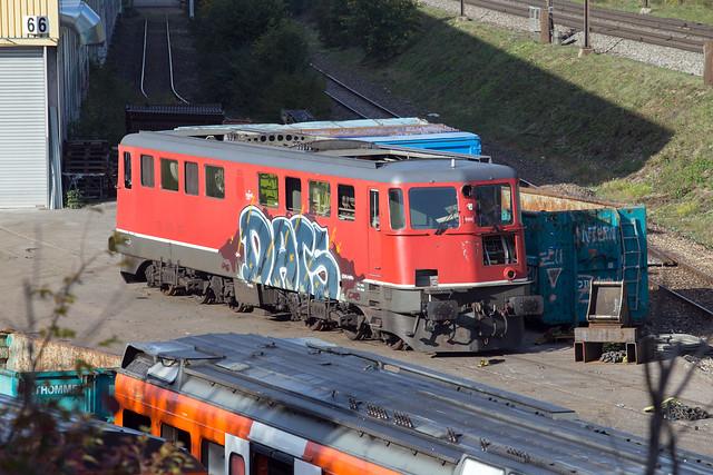 SBB Ae 6/6 11456 Kaiseraugst
