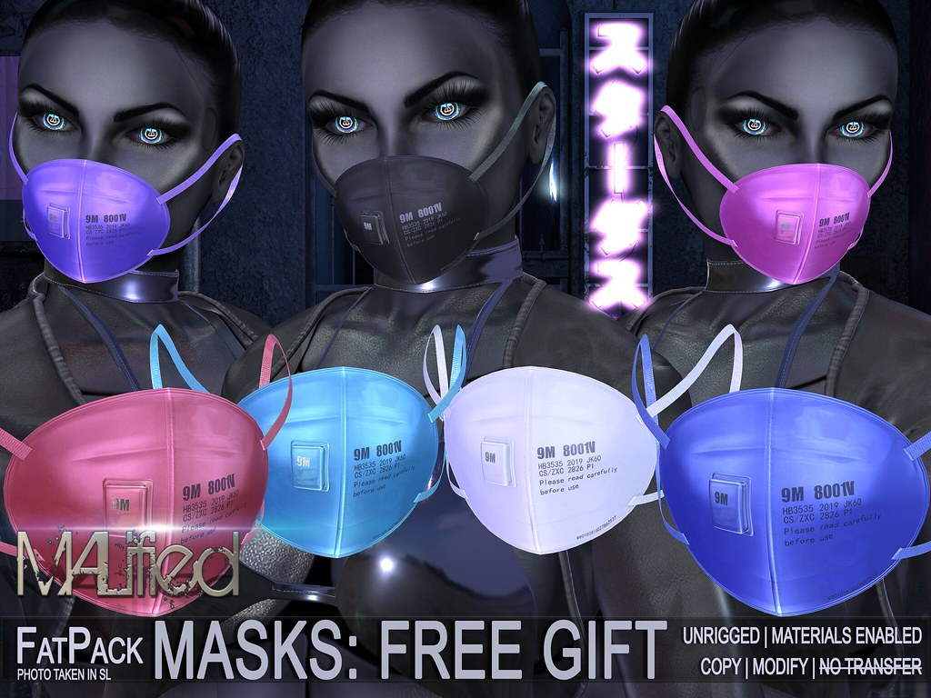 FREE GIFT – MALified: Masks Unrigged – COPY MOD FATPACK