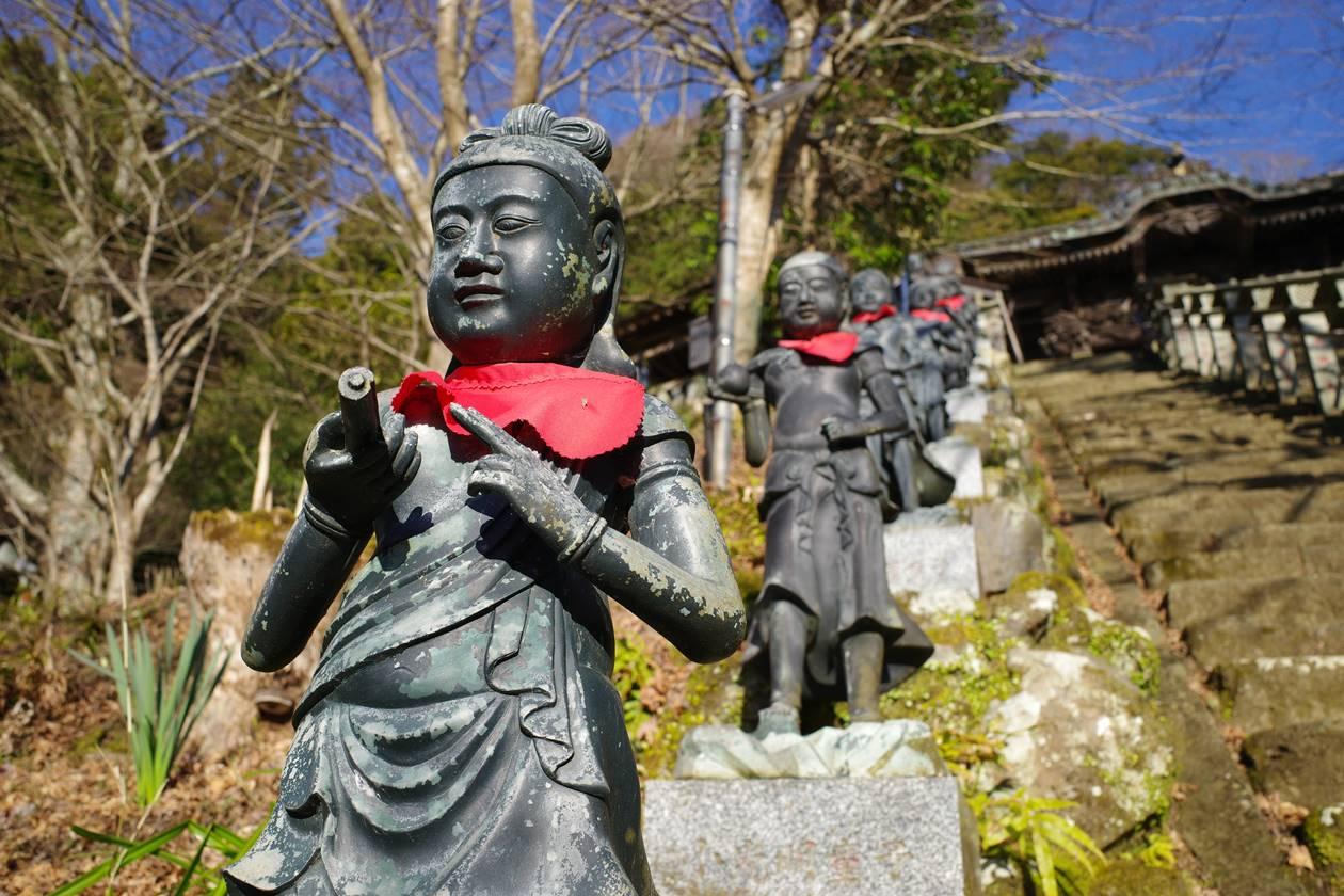 大山寺の仏像