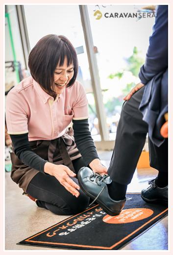 シューフィッターと選ぶピッタリの靴