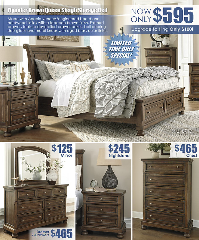 Lettner Brown Storage Sleigh Bed Special_Layout_B719