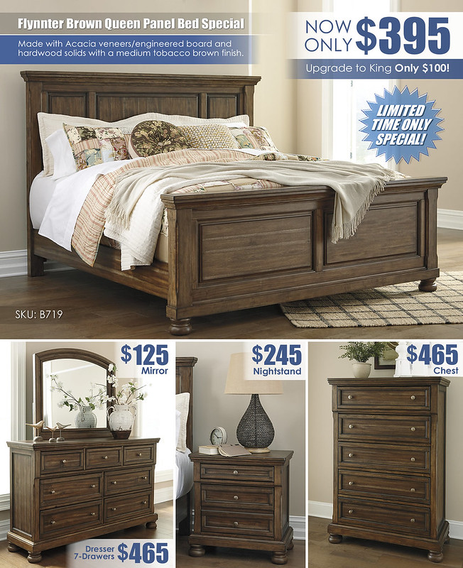 Lettner Brown Panel Bed Special_Layout_B719