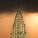 Tramonto, dopo il temporale,  sul Chrysler Building