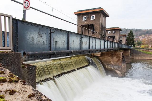 Staumauer / Dam wall