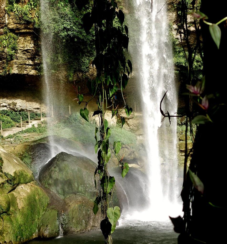 MEXICO, Wasserfall von Misol Ha,  19613/12488