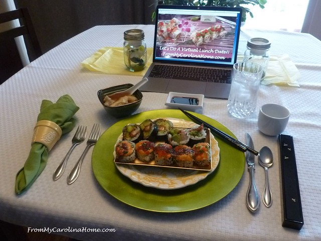 Virtual Lunch at FromMyCarolinaHome.com