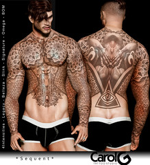 Sequent Male Tattoo