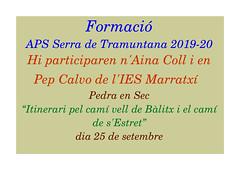2019 Set  Curs de la Serra-Pedra en sec