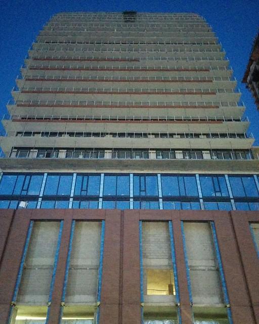 Towers against twilight blue (2) #toronto #yongeandwellesley #evening #twilight #blue #yongestreet #coronavirustoronto #latergram