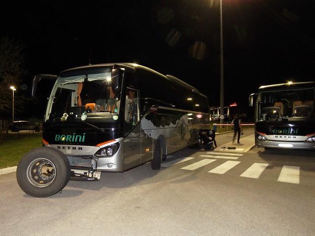 Setra S515MD ES-503-LM Autocars Borini Voyage Val d'Isère - Calais 15-03-20a