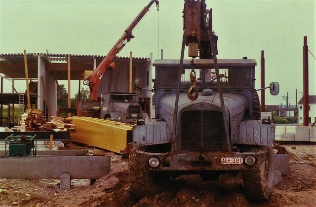 Mercedes LKW 315-46 Montgeron (91 Essonne) Juillet 1989a